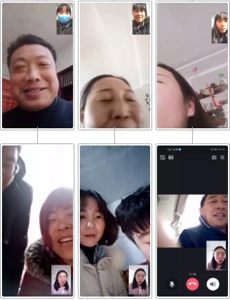 郑州北大青鸟翔天信鸽校区线上直播教学进行中